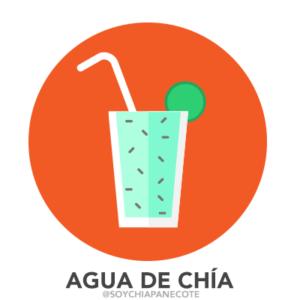 Agua de Chía Bebida de Chiapas