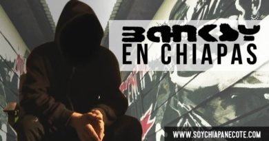 banksy en chiapas mexico