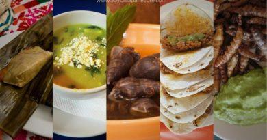Platillos típicos de Chiapas