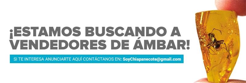 vendedores de ambar en Chiapas