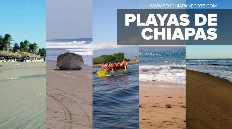 Playas en Chiapas