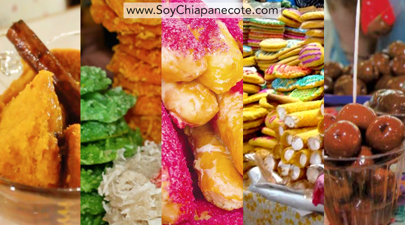 dulces típicos de Chiapas