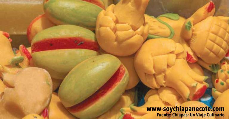 dulces coletos de Chiapas
