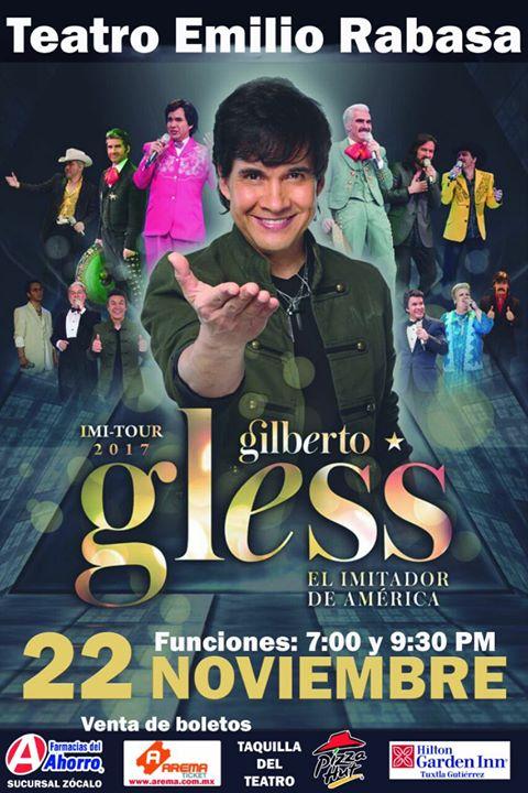 Gilberto Gless en Tuxtla Gutierrez, Chiapas