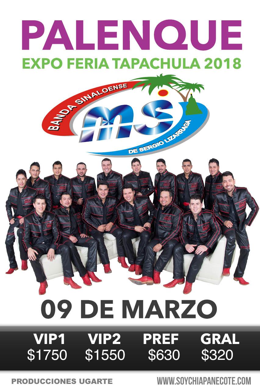 Banda MS en Tapachula - Expo Feria 2018