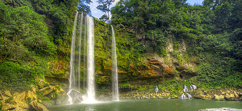 Cascada Misol Ha en Chiapas