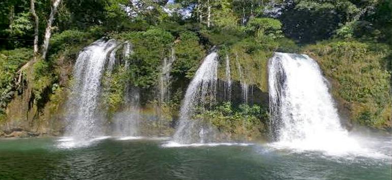 Cascadas Welib Ja en Chiapas México