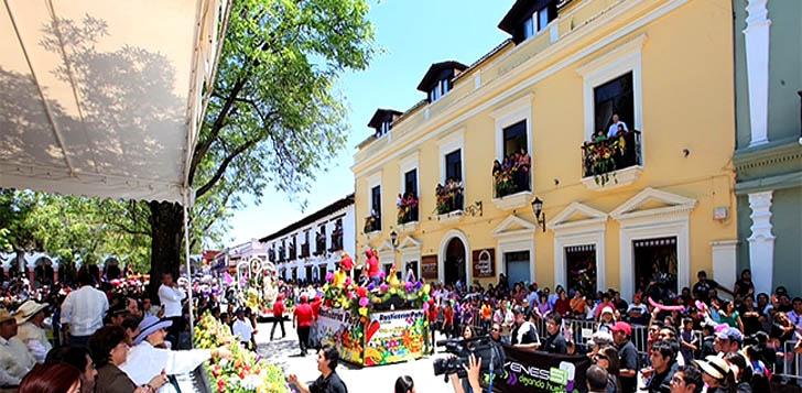 Feria de la Paz en San Cristóbal de Las Casas Chiapas
