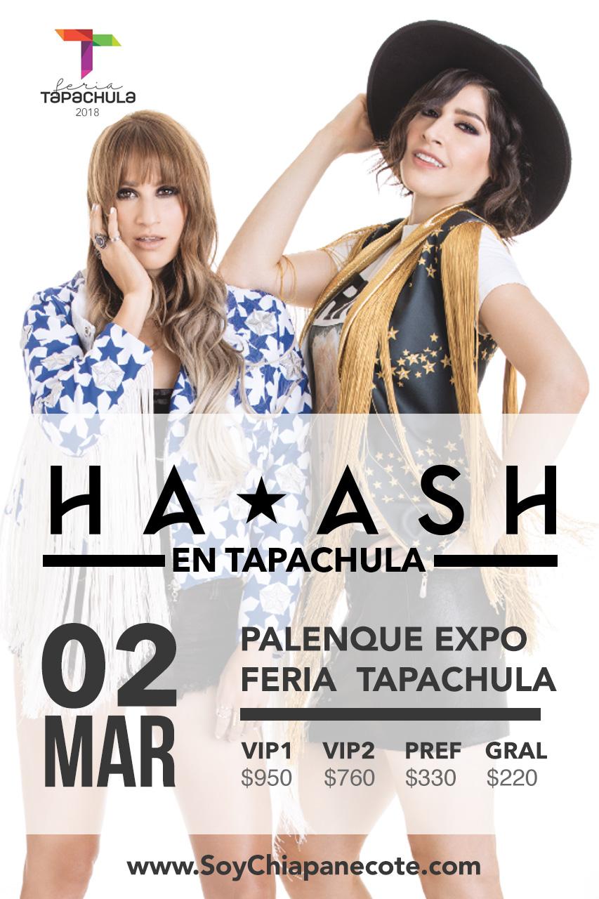Ha-Ash en Tapachula - Expo Feria 2018