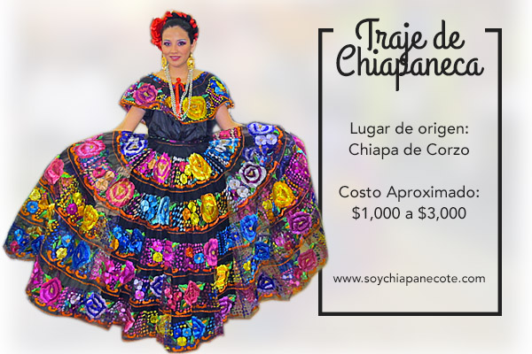 54e5b28c2 5 trajes típicos de Chiapas de belleza incomparable