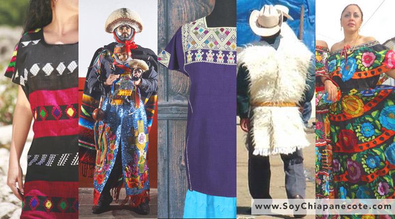 trajes típicos de Chiapas