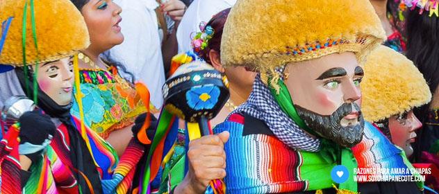 Parachicos - Cultura de Chiapas