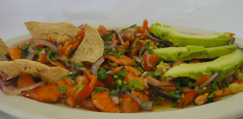 botana de camarón seco chiapas
