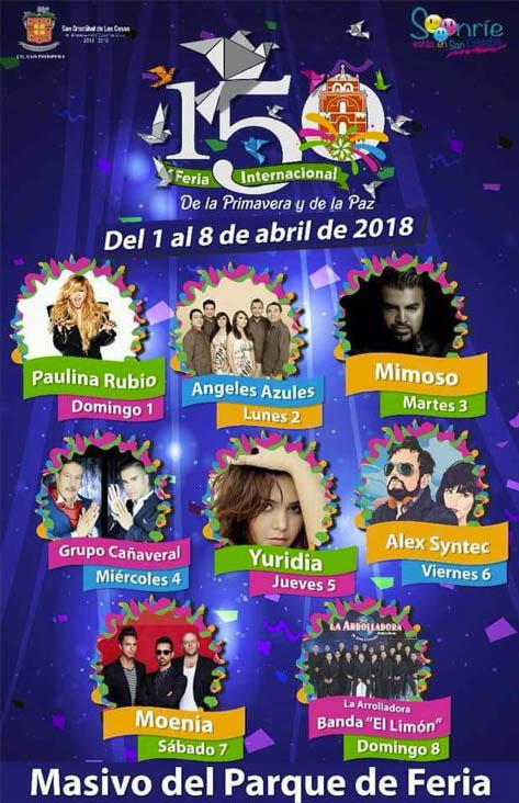 Feria de San Cristóbal de Las Casas 2018