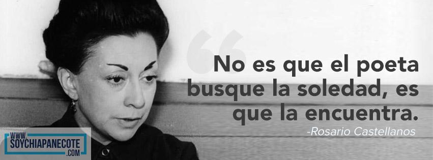 Frase de Rosario Castellanos y poemas