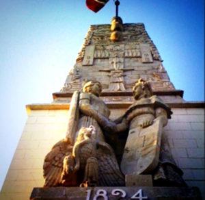 Monumento de Anexión de Chiapas a México e independencia