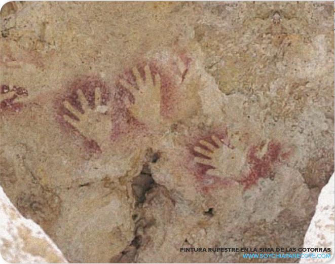 Pinturas rupestres de los primeros habitantes de Chiapas