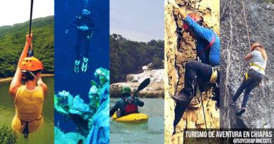 Turismo de Aventura en Chiapas