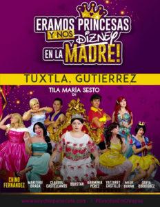Eramos Princesas de Tila Maria Sesto en Tuxtla