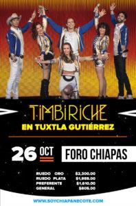 Timbiriche en Tuxtla Gutiérrez, Chiapas 2018