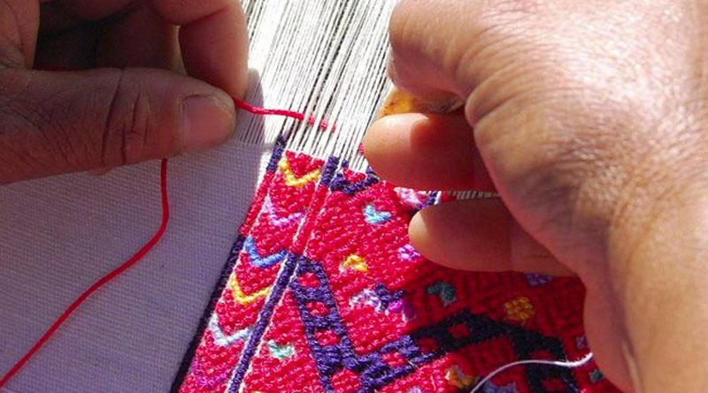 Como se hacen - Textiles de san Andres Chiapas