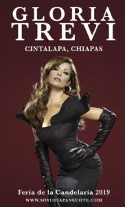 Gloria Trevi en Cintalapa, Chiapas - Feria de la Candelaria