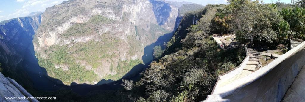 Mirador Atalaya en el Cañón del Sumidero | Vista panoramica
