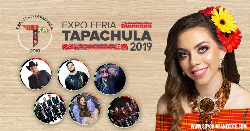 Cartelera Feria de Tapachula 2019 - Cartelera