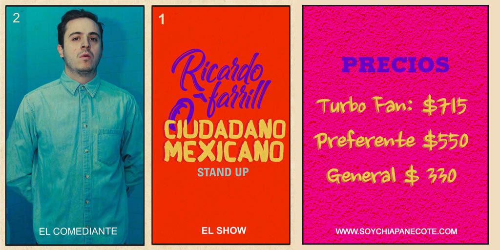 Precios de Ricardo O'Farrill en Tuxtla Gutiérrez
