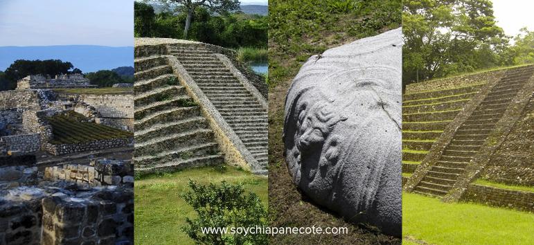 Sitios arqueologicos de Chiapas