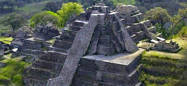Tonina, Chiapas - Sitio arqueologica en Chiapas