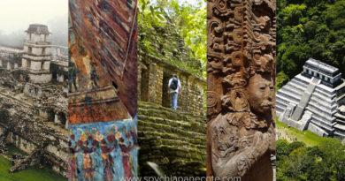 Zonas Arqueológicas de Chiapas