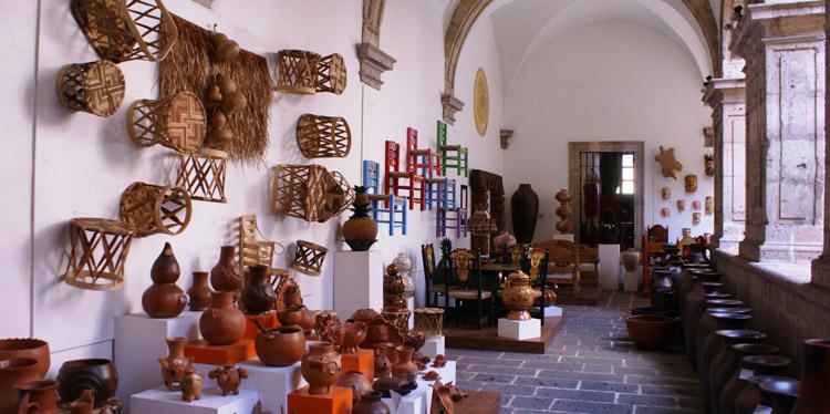 Casa del as artesanías en Chiapas