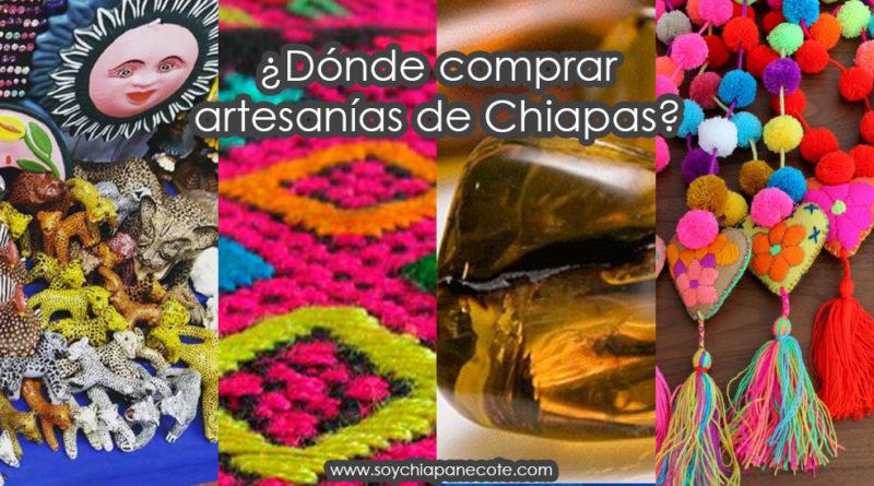 Dónde comprar artesanías de Chiapas