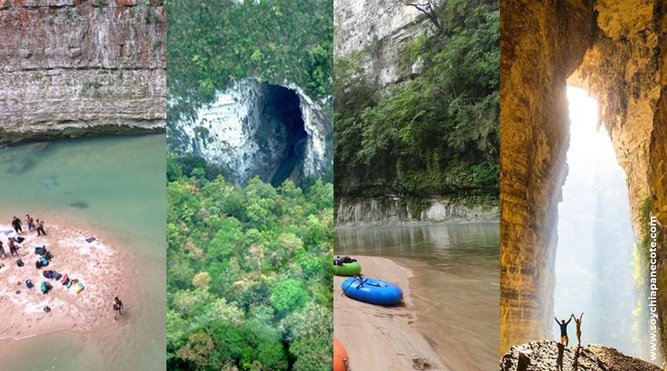 Arco del Tiempo Cintalapa Chiapas - rio la venta