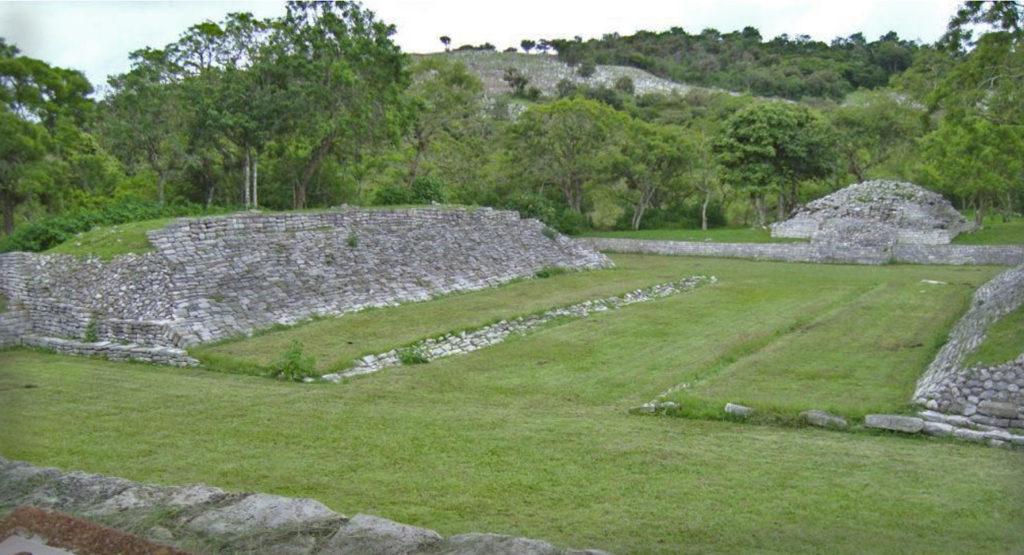 Juego de Pelota Maya en Tenam Puente Chiapas
