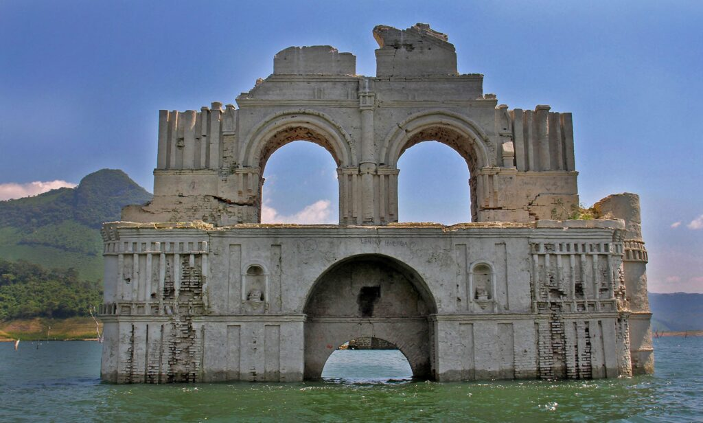 Templo inundado de Chiapas