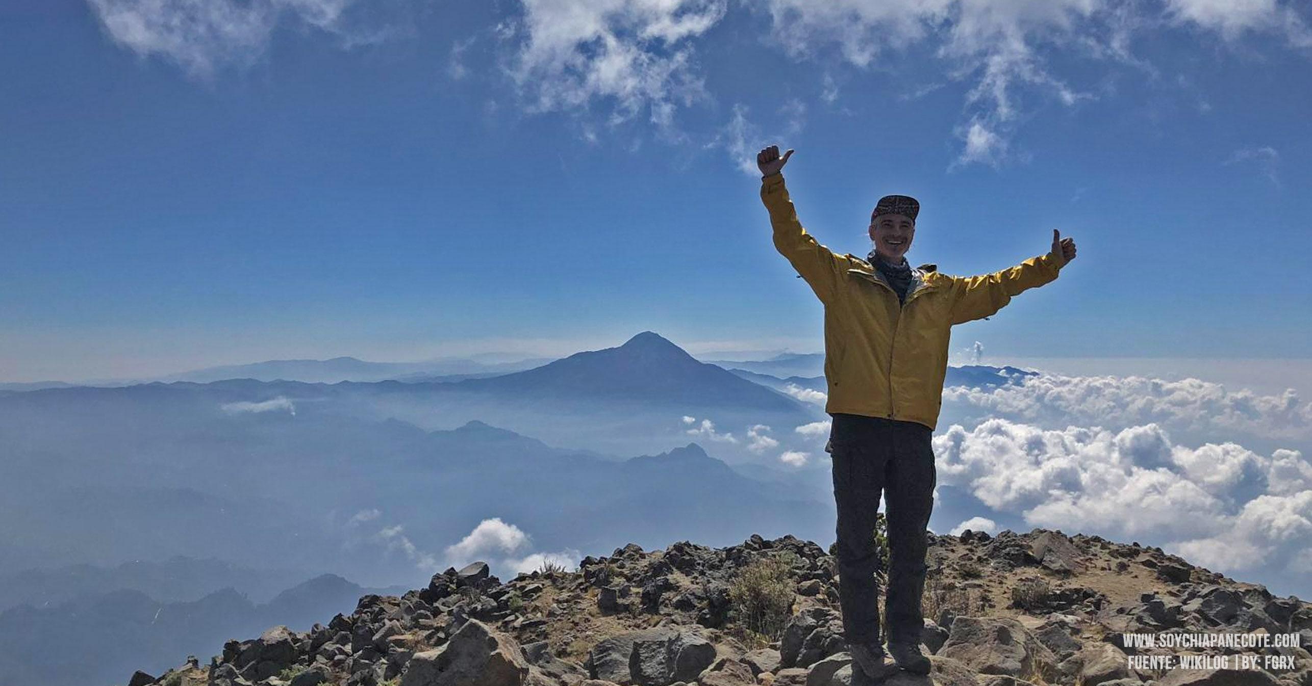 Visitar volcán tacaná