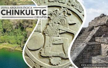Zona Arqueologica Chinkultic de Chiapas